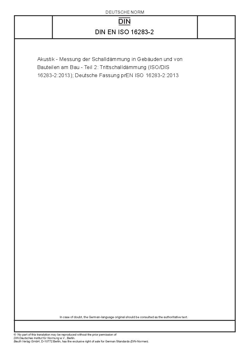 acoustics and sound insulation pdf