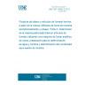 UNE ISO 15592-3:2012 Picadura de tabaco y artículos de fumado hechos a partir de la misma. Métodos de toma de muestras, acondicionamiento y ensayo. Parte 3: Determinación de la materia particulada total en artículos de fumado utilizando una máquina de fumar analítica de rutina, preparación para la determinación de agua y nicotina y determinación del condensado seco exento de nicotina.