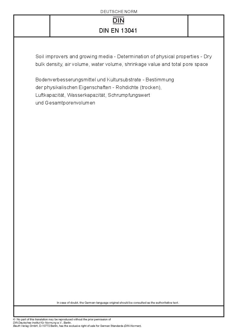determination of bulk density of soil pdf