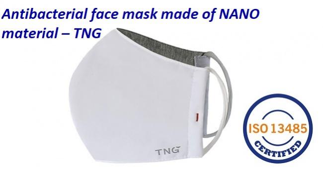 Antibacterial Face Mask of NANO fabric