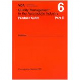 VDA 6 5 - Product Audit