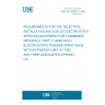 UNE EN 50053-2:1993 REQUIREMENTS FOR THE SELECTION, INSTALLATION AND USE OF ELECTROSTATIC SPRAYING EQUIPMENT FOR FLAMMABLE MATERIALS. PART 2: HAND-HELD ELECTROSTATIC POWDER SPRAY GUNS WITH AN ENERGY LIMIT OF 5 MJ AND THEIR ASSOCIATED APPARATUS.