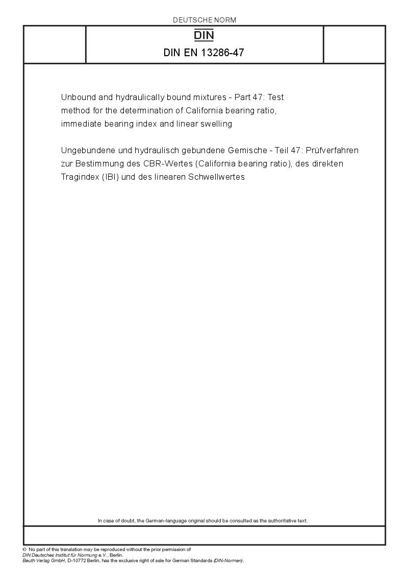 california bearing ratio test pdf